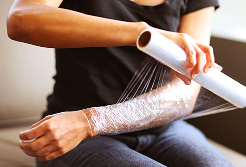 Lose Weight by Plastic Wrap