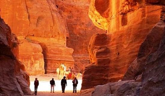 Petra Through the Back Door, Jordan