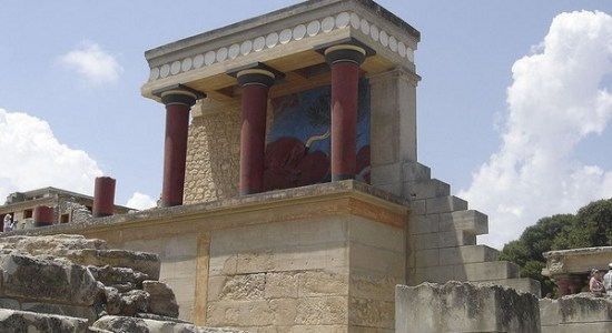 Knossos Oldest Buildings