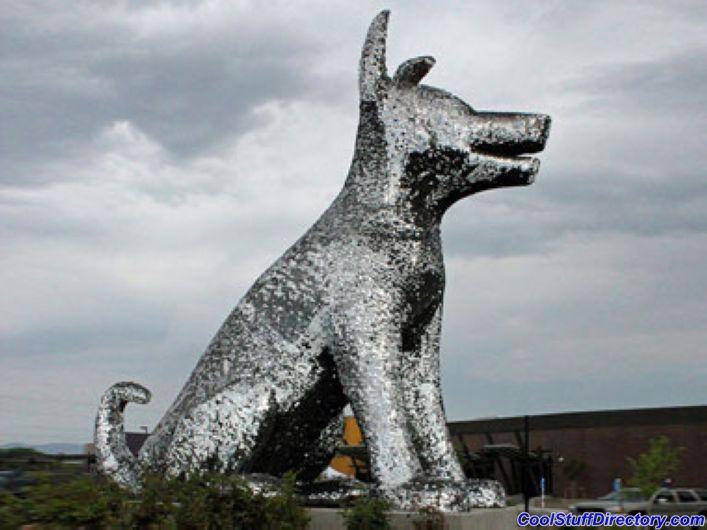 Oversized Silver Dog