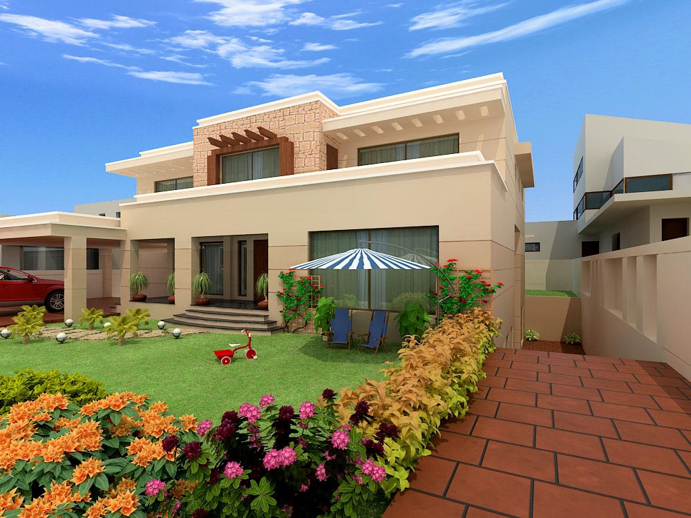 Home Exterior Designs - Top 10 Modern Trends on Beautiful Home Decor  id=16373