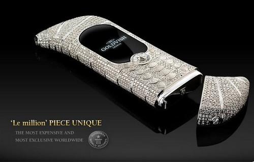 GoldVish Le Million - $1.3 million Expensive Mobile Phones