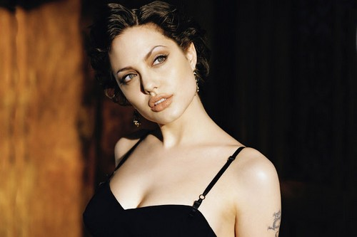 Hottest Brunettes Angelina Jolie