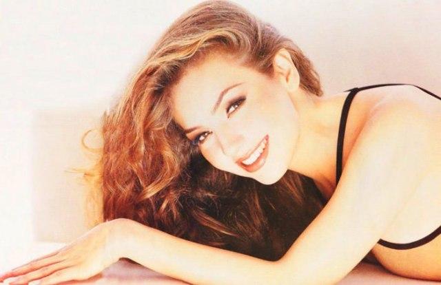 Beautiful Mexican Lady Thalia