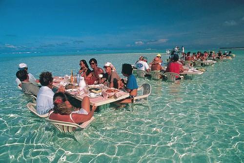 sea restaurant Bora Bora