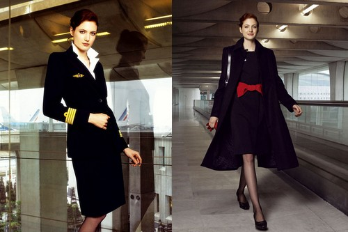 Air France Air Hostess
