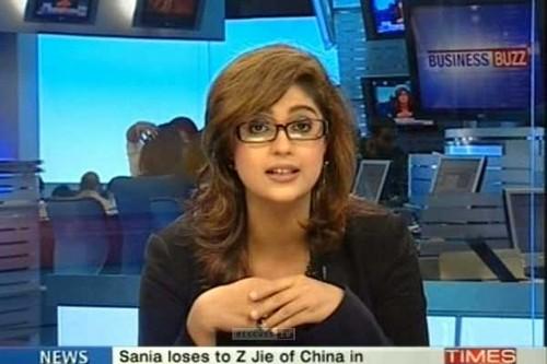 sexy tv reporter Harishree Mehta