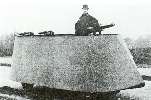Simms Motor War Car