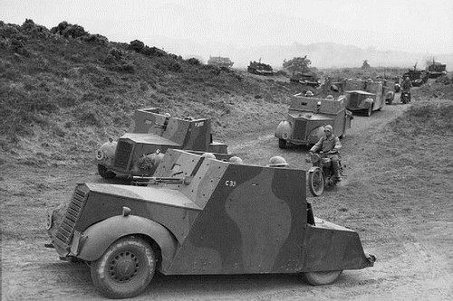 Ancient Armoured Vehicles