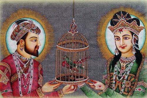 Shah Jahan and Mumtaz Mahal