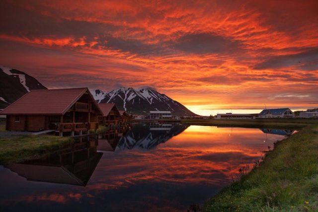 Iceland Sunset Lodge