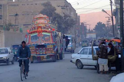 Pollution in Quetta, Pakistan