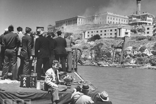 Alcatraz violent prison riots