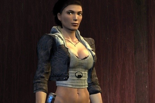 Alyx Vance, from Half-Life 2