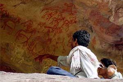 Bhimbetka Rock Shelters, Asian Caves India