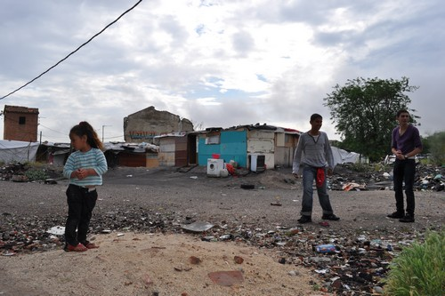 Canada Real Shanty town Madrid Spain