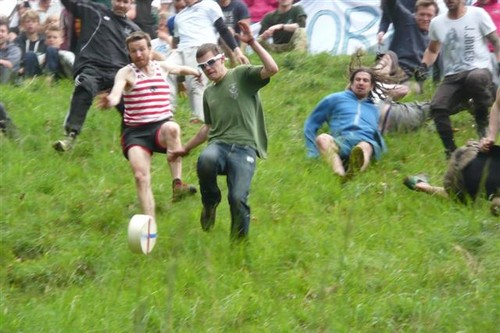 Cheese Rolling Bizarre Sports