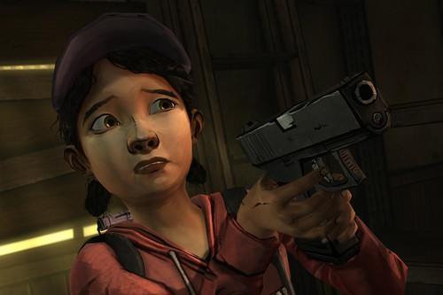 Clementine, from The Walking Dead