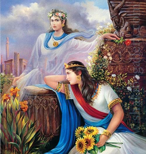 Persian Queens Azarmidokht