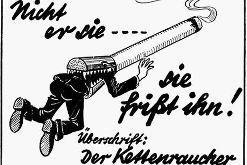 German anti-smoking ad