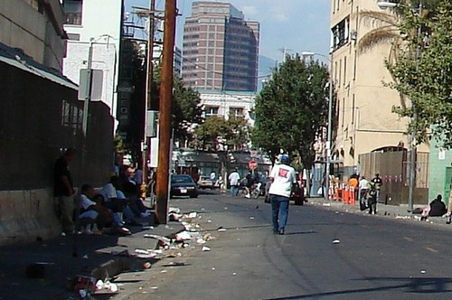 Horrid Slums of Hollywood, California