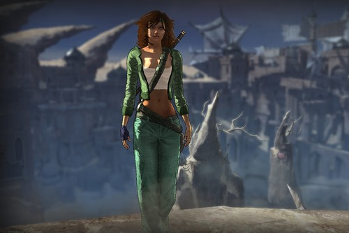 Jade, from Beyond Good & Evil