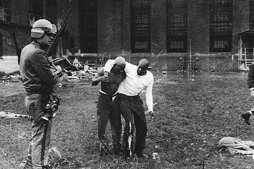 The Attica violent prison riots