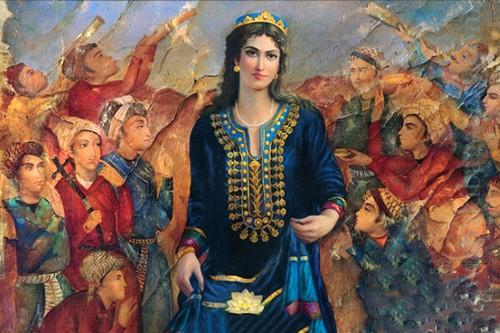 Turandokht Sassanid
