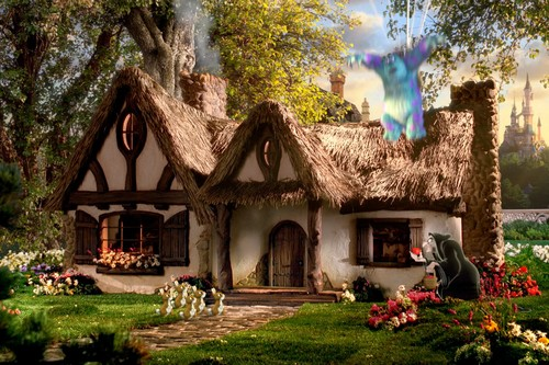 Cottage of the Seven Dwarfs in Snow White