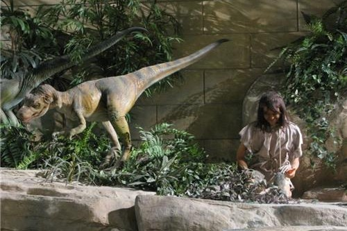 Humans And Dinosaurs Lived Side By Side