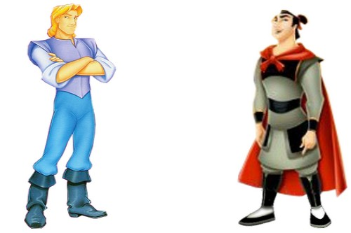 Captain John Smith and Captain Li Shang
