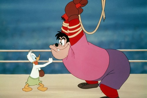 Donald Duck As Boxer