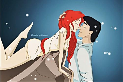 Princess Ariel & Prince Eric