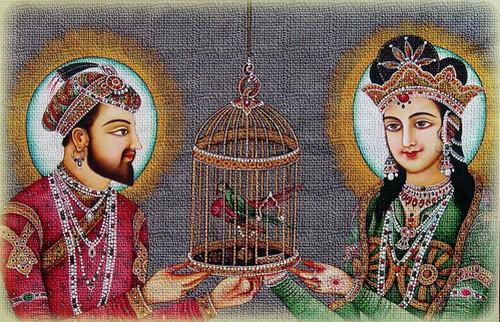 Shah Jahan and Mumtaz