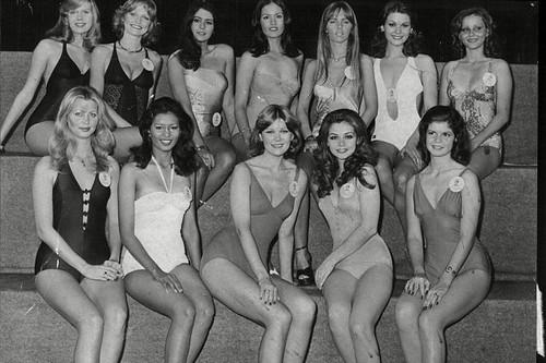 Festive Bikini Contest in 1951