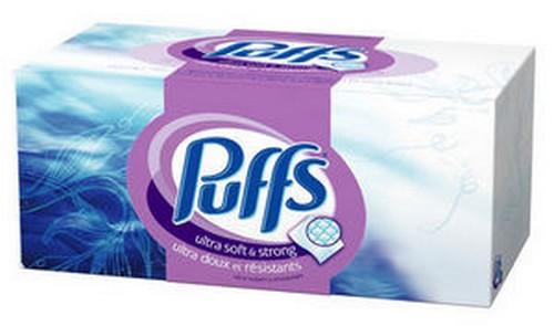 Puffs brand tissues
