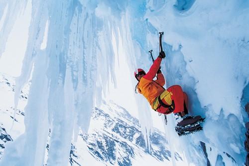 Ice Mountain Climbing