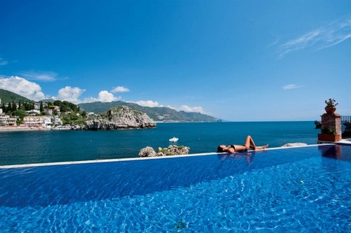 Exotic Man-Made Infinity Pools