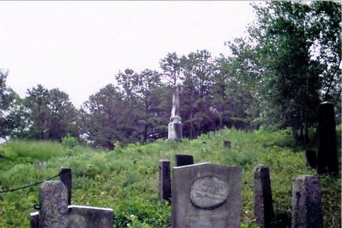 Elder Ballou Cemetery Haunted Places in New England