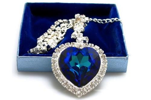 Heart of the Ocean Diamond Necklace