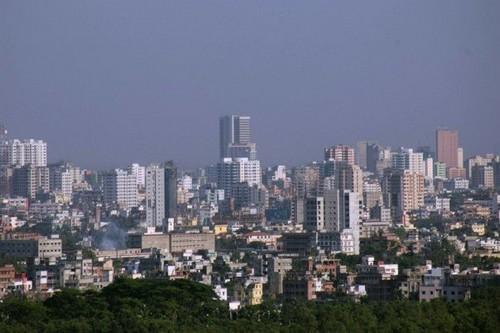 Dhaka skyline aymash