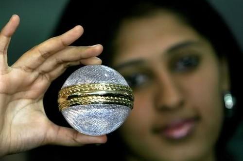 Expensive Cricket Ball