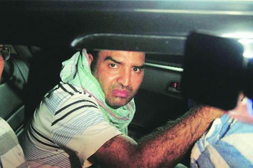 RTI activist Chandra Mohan Sharma in police custody