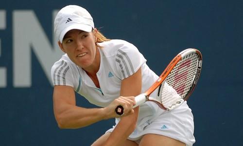 Tennis Champion Justine Henin