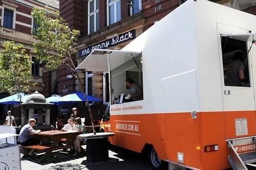 Food Street in Melbourne, Australia