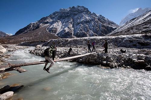Trekking at a high Altitude