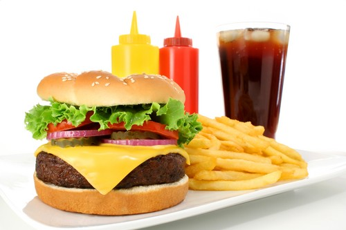 fast food High Cholesterol Foods