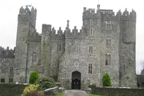 Kilkea Haunted Castles in Ireland