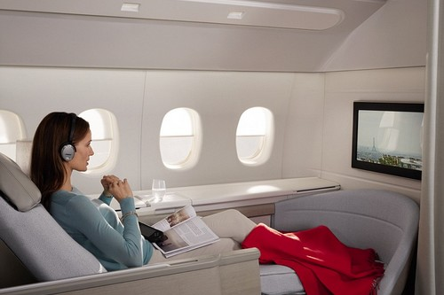 Air France Luxurious Airline Cabins