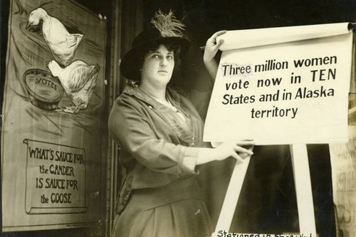 Carrie Chapman Famous Feminists